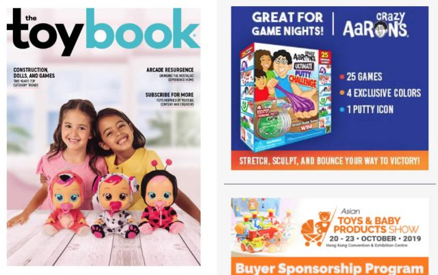 Industry journal The ToyBook