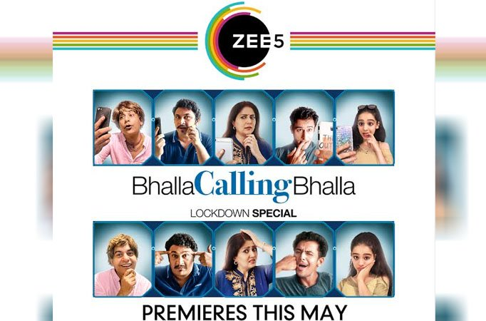 Zee5 is launching the first online Bhalla Calling Bhalla Web Series