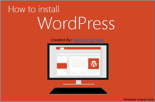 how to install wordpress guide