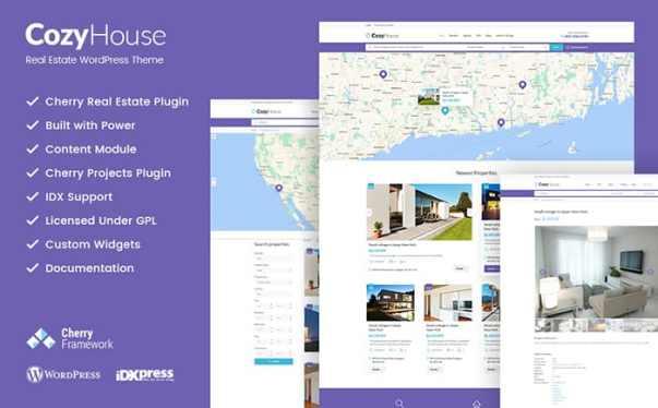 Real estate Website Design Image