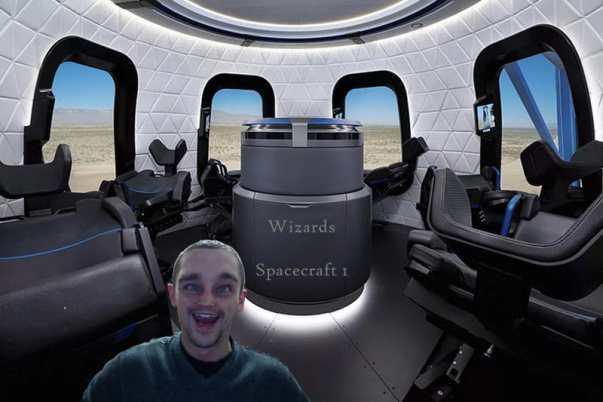 inside alien spaceship