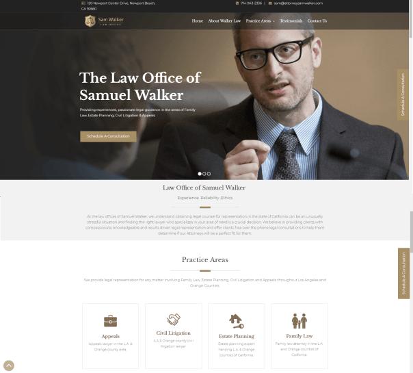 attorney website design image 2