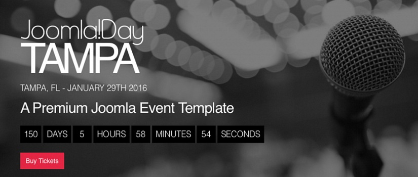 Joomla Day - Premium Event Template