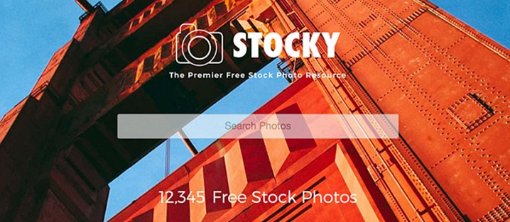 Stocky - Ultimate Joomla Photography Template