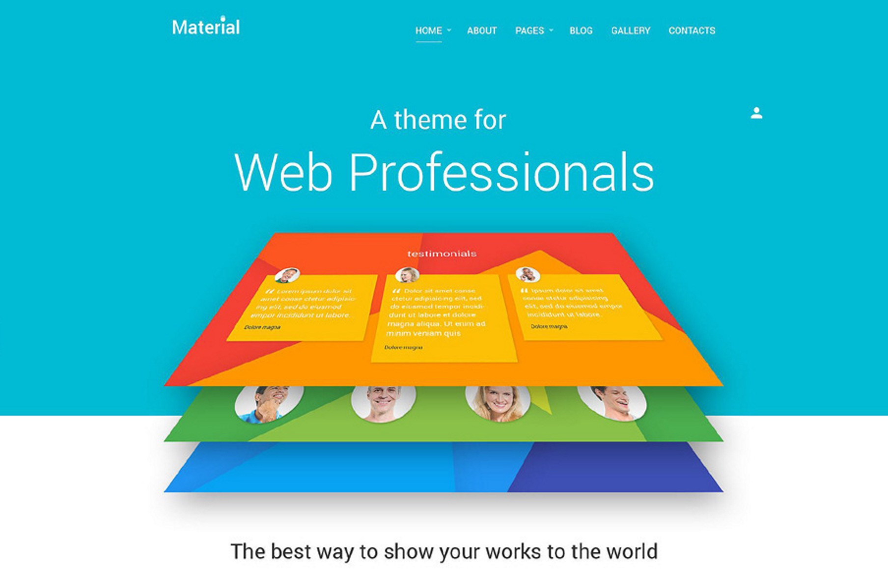 The Material Theme