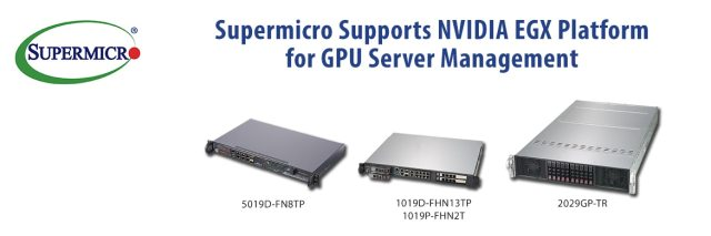 Hardware: Supermicro Servers Now Support NVIDIA EGX Platform 2
