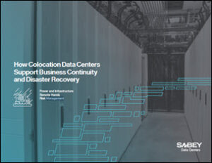 Sabey Data Centers' Explores Disaster Recovery as 'Lifeboat' for Business Continuity