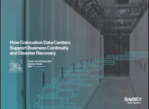 Sabey Data Centers' Explores Disaster Recovery as 'Lifeboat' for Business Continuity 1