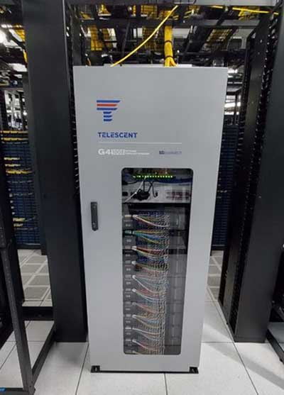Telescent NTM in a data center. (Photo: Telescent)
