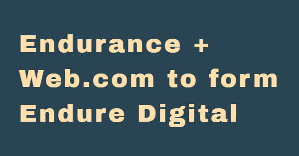 Endurance to acquire Web.com, spin off Constant Contact 2