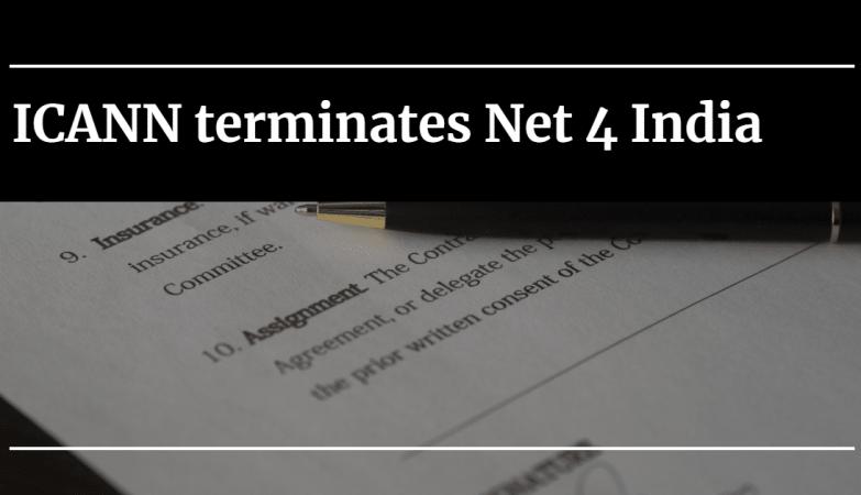 ICANN terminates Net 4 India 22