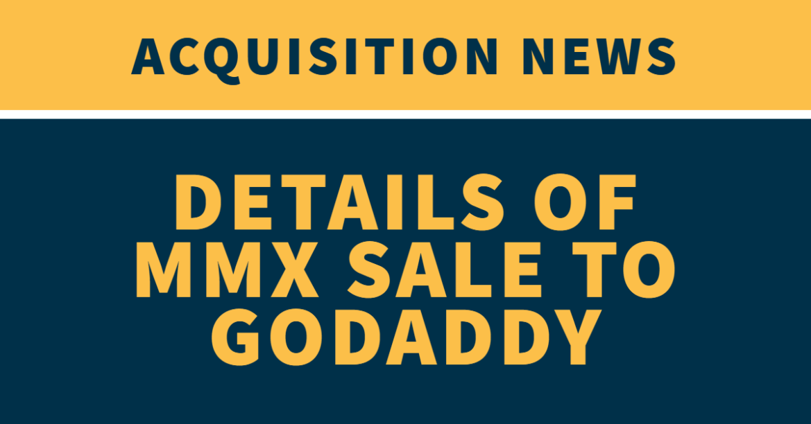 Details behind MMX sale to GoDaddy
