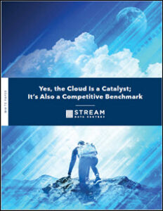 The Cloud is a Catalyst for Evolution and a Competitive Benchmark