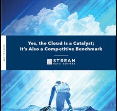 The Cloud is a Catalyst for Evolution and a Competitive Benchmark 1