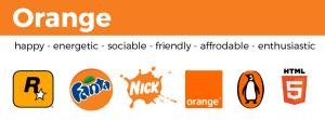 examples of orange logos nickelodeon orange fanta