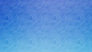 Polygon Background Blue