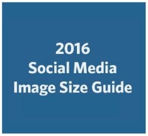 2016 Social Media Image Size