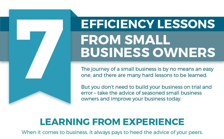 Efficiency Tips from Small Business Owners!