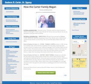 carter family begins