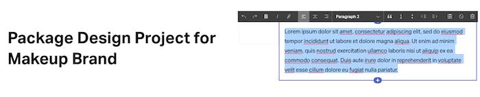 squarespace text highlight