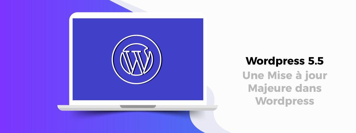 une mise à jour WordPress 5.5