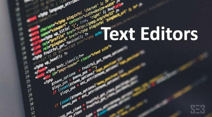 Best Text Editors For Web Designers
