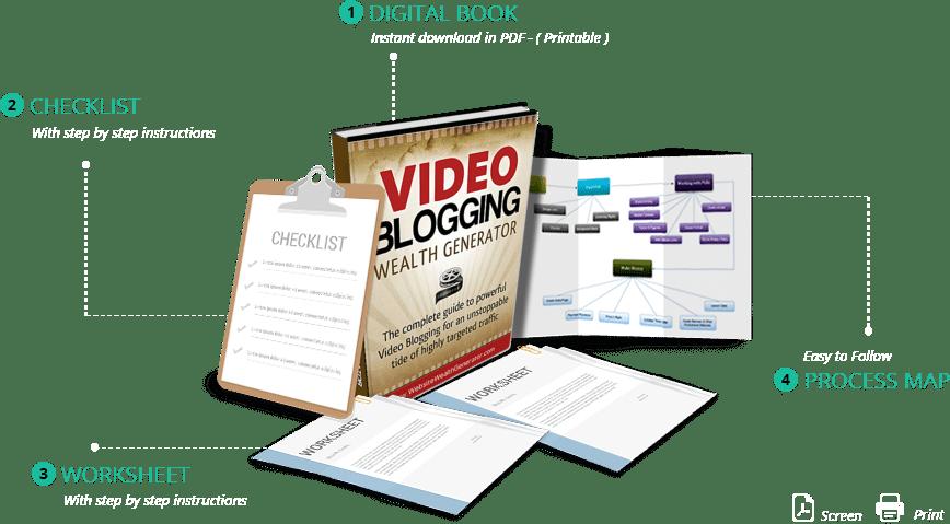 Video Blogging Wealth Generator Package