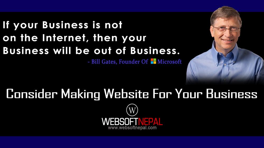 make-website-websoft-nepal-bill-gates