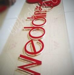logo akrilik dan huruf timbul