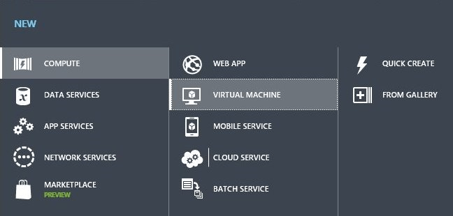 Create Azure Virtual Machine