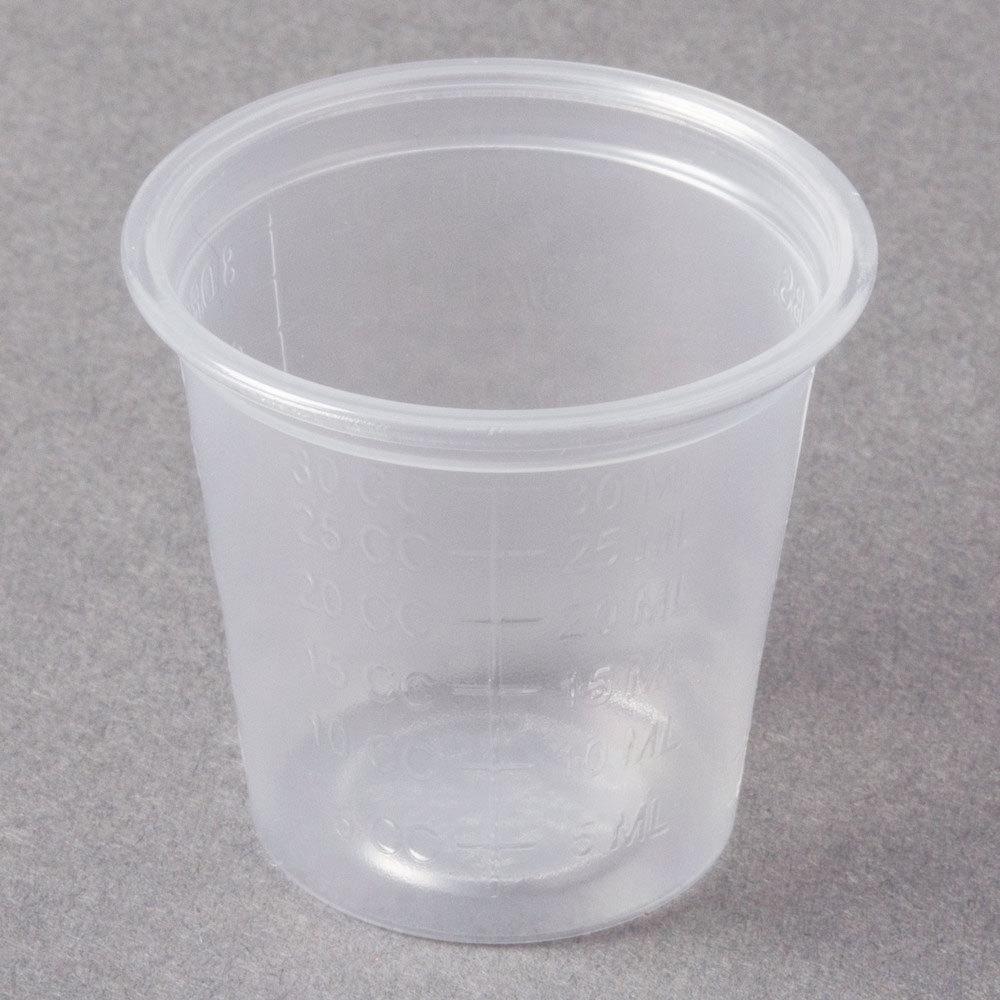 Dart Conex Complements 125PCG 125 Oz Translucent Plastic