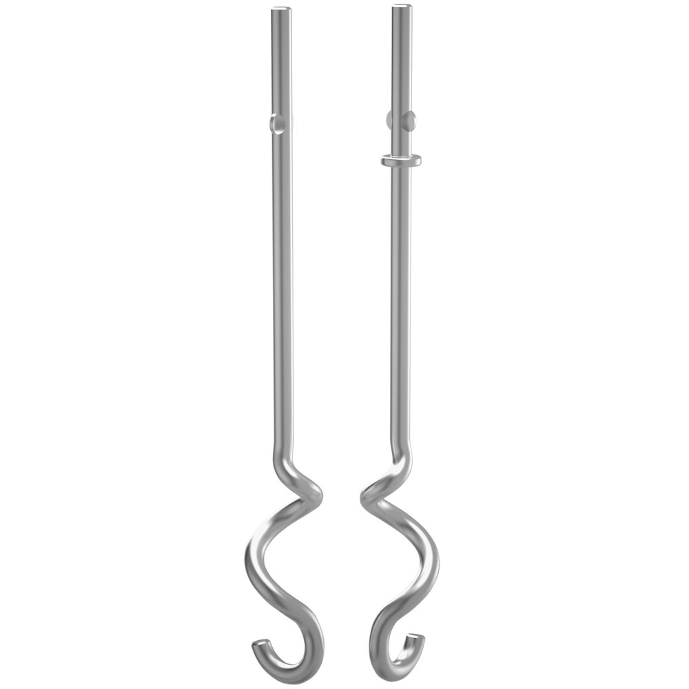 KitchenAid KHM2DH Stainless Steel Dough Hook Set For Hand