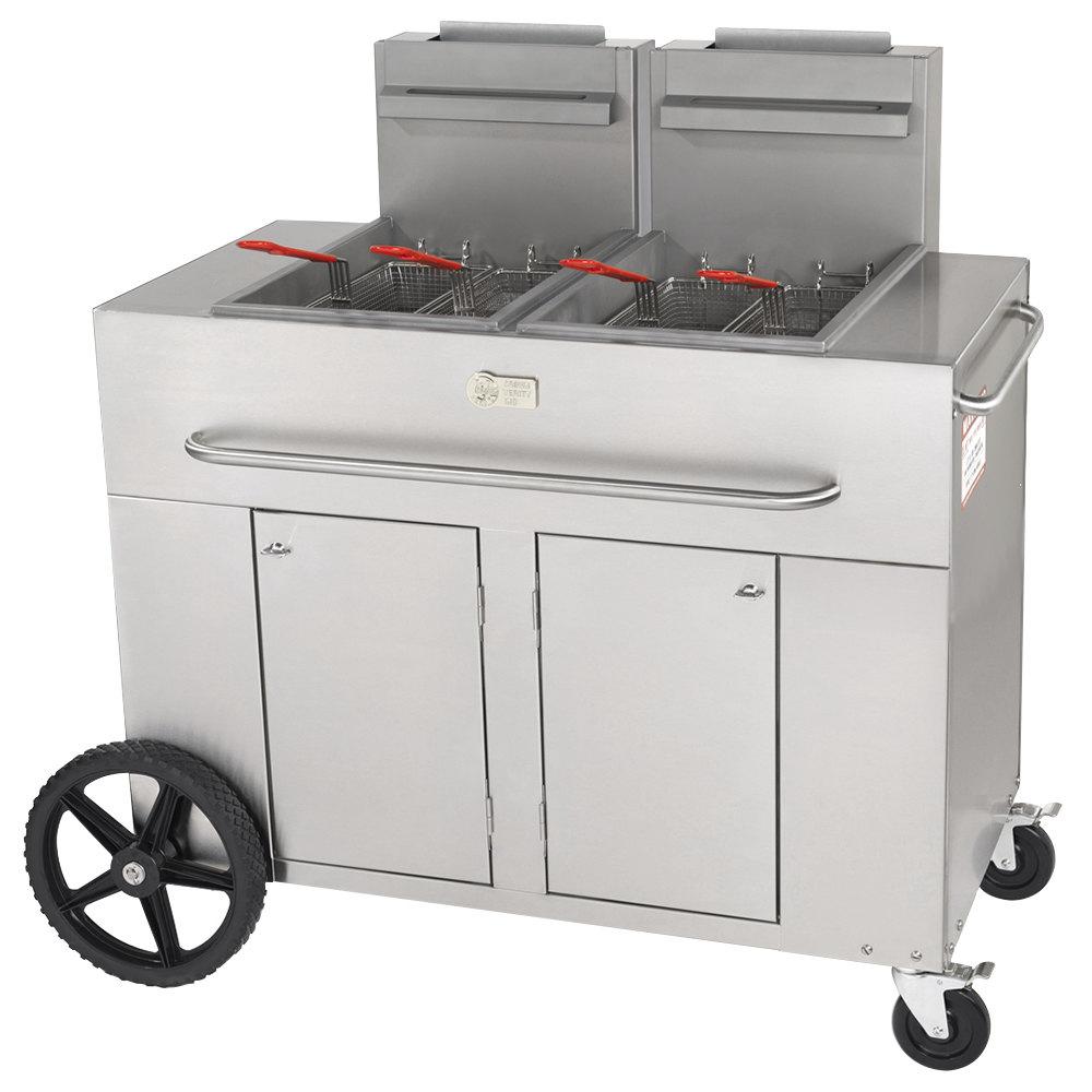 Crown Verity PF 2 70 80 Lb Portable Outdoor Fryer