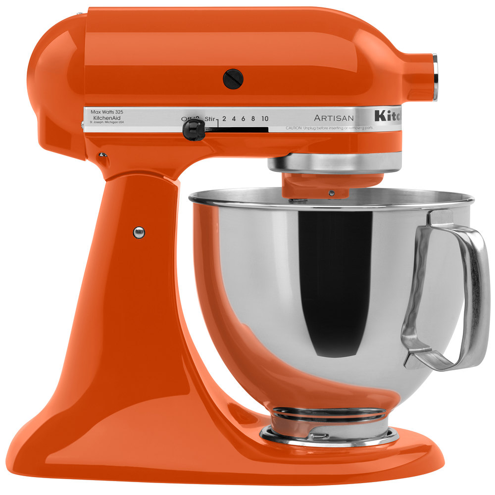 Image Result For Orange Kitchenaid Mixer