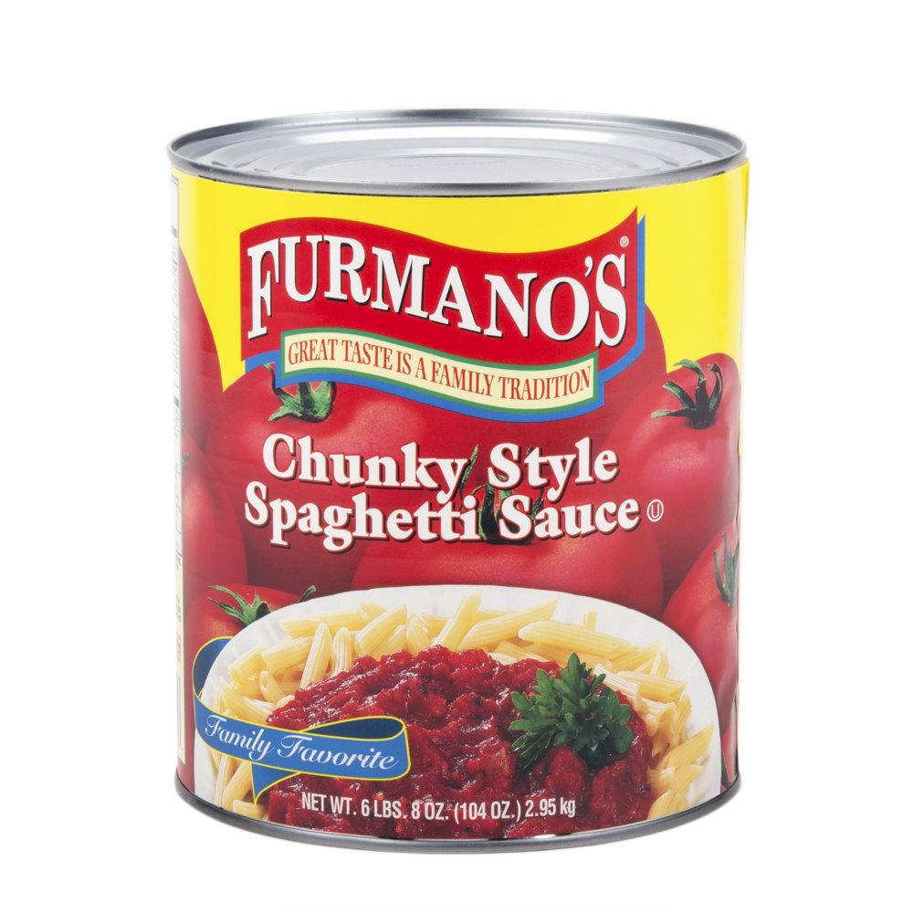 Spaghetti Sauce Chunky