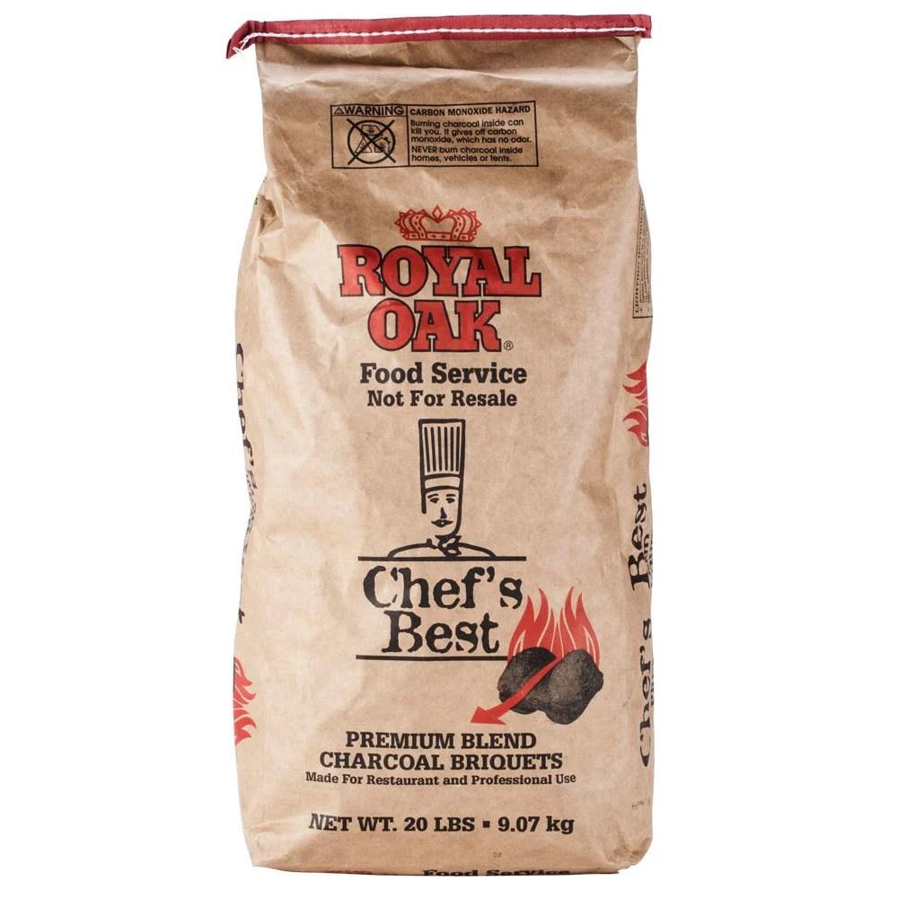 Royal Oak Chefs Best Restaurant Style Charcoal Briquettes