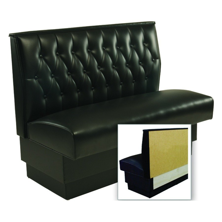 American Tables Amp Seating As 42t Wall Button Tufted Back