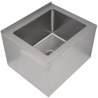 floor mount stainless steel mop sinks