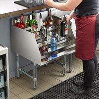 underbar liquor displays liquor racks