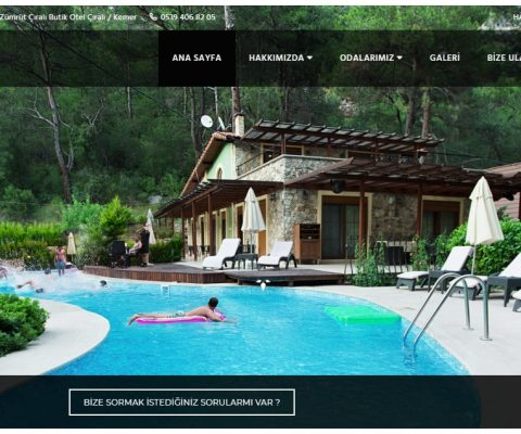 İzmit Butik Otel Web Tasarım