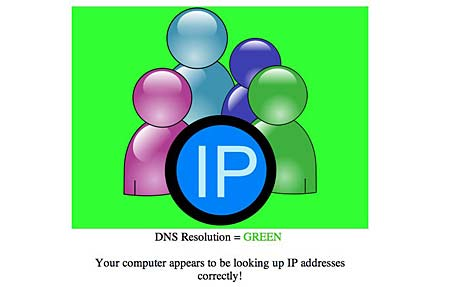 dns changer test results