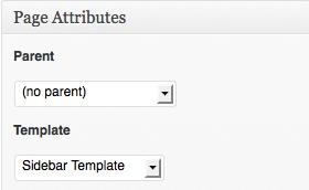How to Put a Sidebar on a WordPress Twenty Eleven Page Like