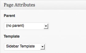 Page Attributes