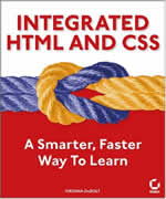 Buy Integrated HTML and CSS: A Smarter, Faster Way to Learn from amzon.com