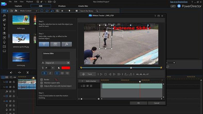 power director video editor