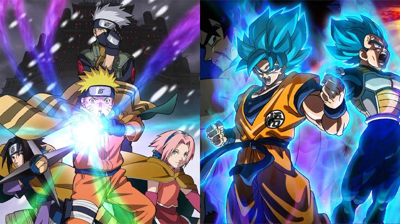 Naruto ve Dragon Ball