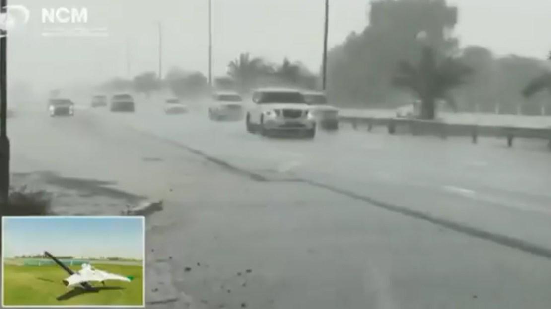 Dubai yapay yağmur