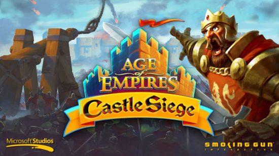 AOE Age of Empires Castle Siege güncellendi