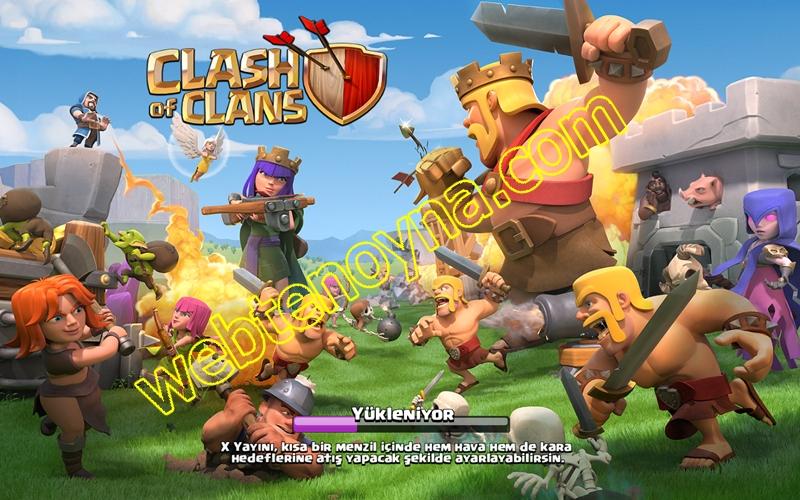 coc Clash of Clans mart 2018