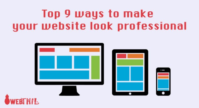 Top-9-ways-to-make-your-website-look-professional